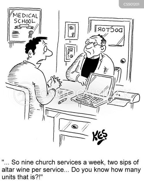 communions cartoon