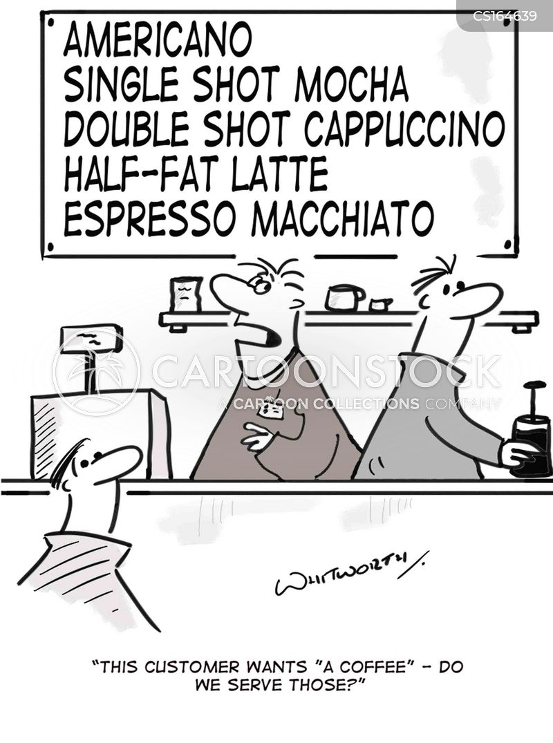 macchiato cartoon