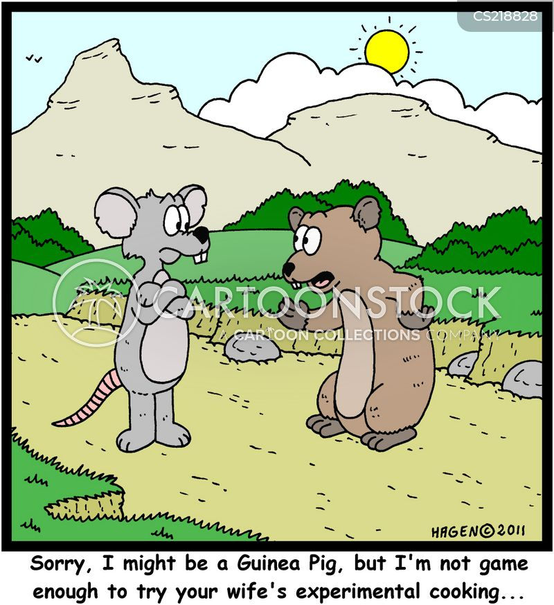 animal experimentation cartoon