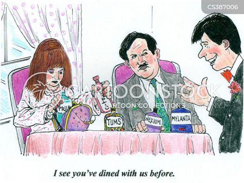 returning customers cartoon