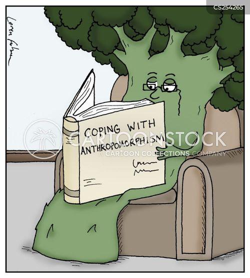 language arts cartoon