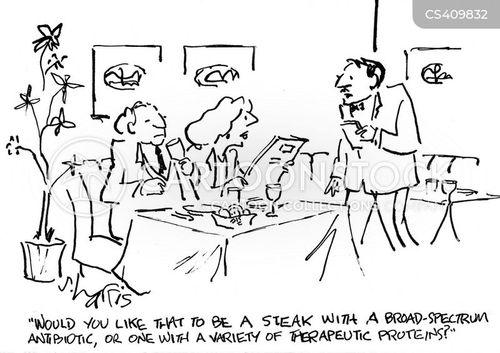 food additives cartoon