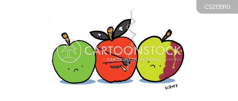 bad apple cartoon
