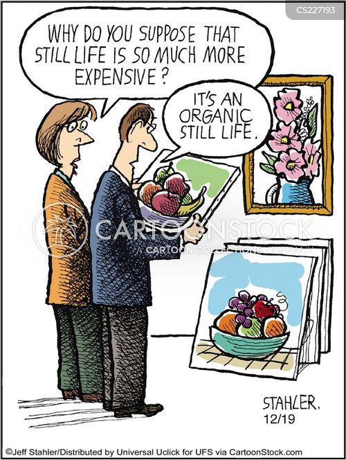 art shop cartoon