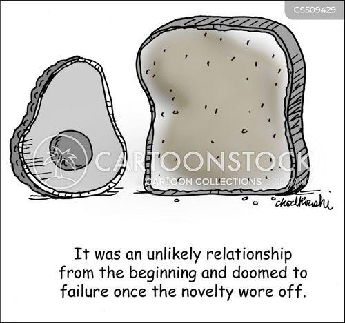 avocado toast cartoon