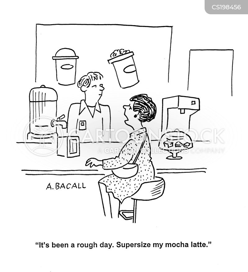 supersize cartoon