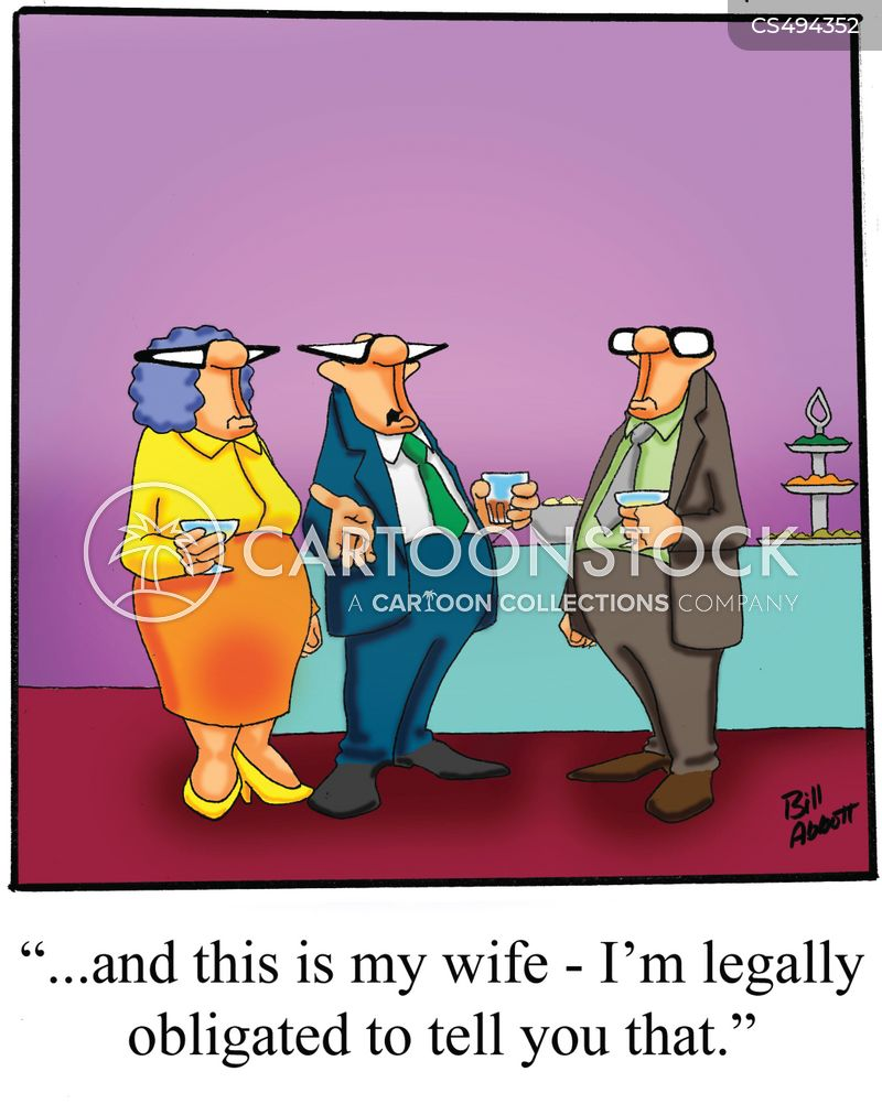 legal obligations cartoon