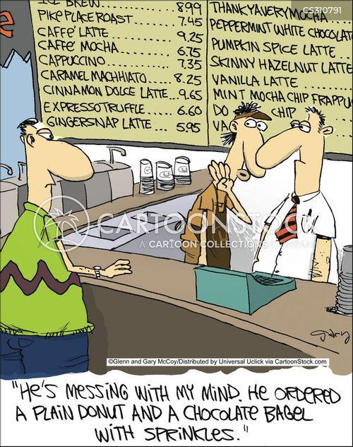 bagels cartoon