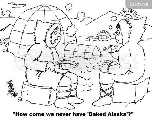 alaskan cartoon
