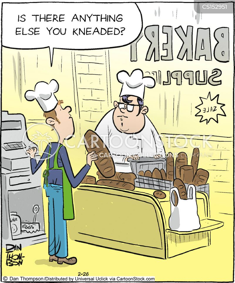 bread makers cartoon