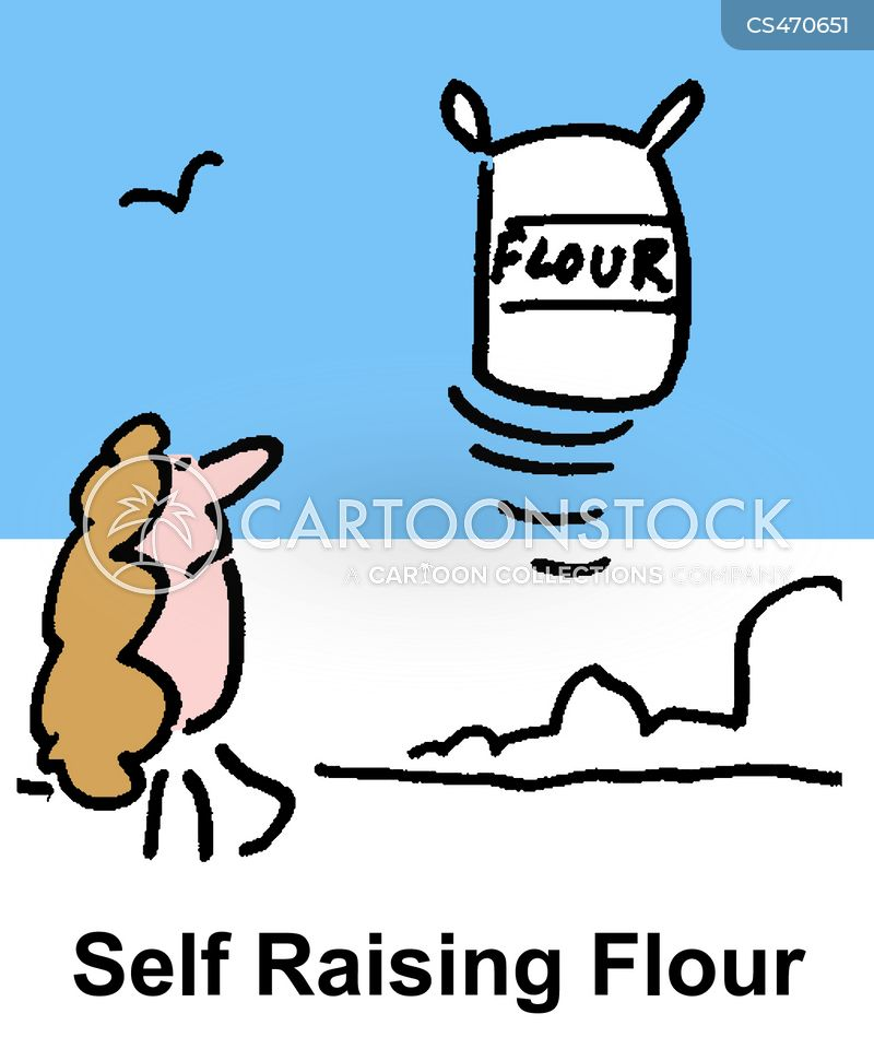 Baking Supplies Cartoon 5 Of
