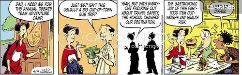 bus trip cartoon