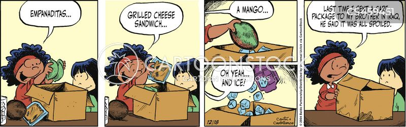 mangoes cartoon