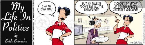 empanadas cartoon