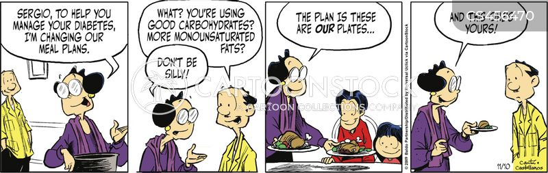 meal plan cartoon