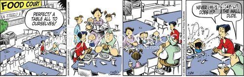 everyday annoyance cartoon