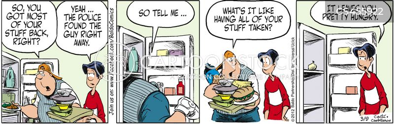huge appetite cartoon