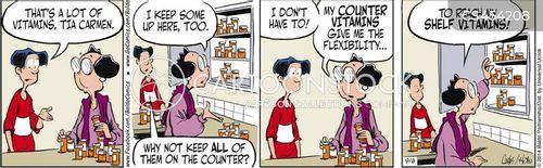 health obsessions cartoon