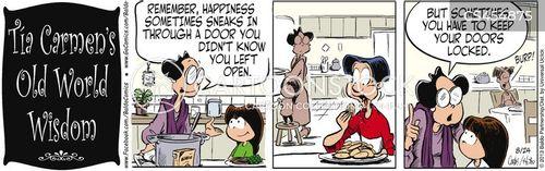 unexpected surprises cartoon