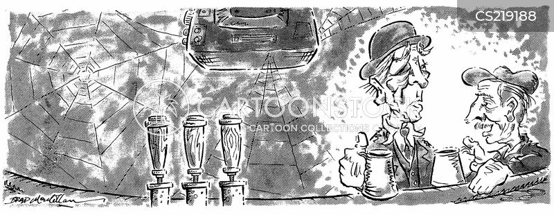traditional pub cartoon