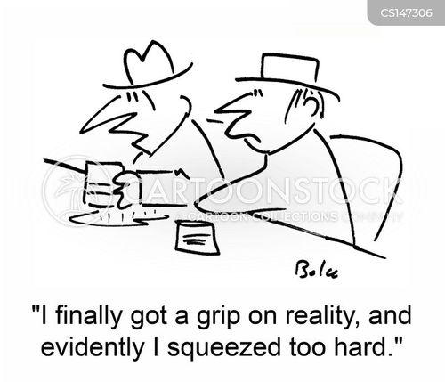 spilling drinks cartoon