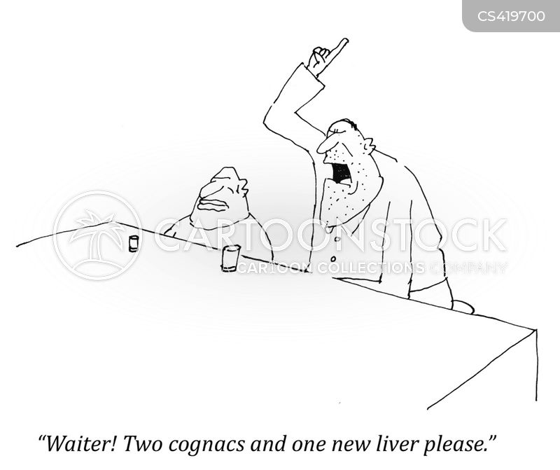 alcohol related disease cartoon