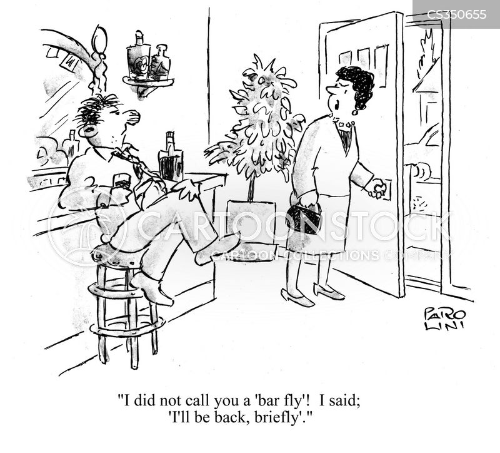alchoholic cartoon