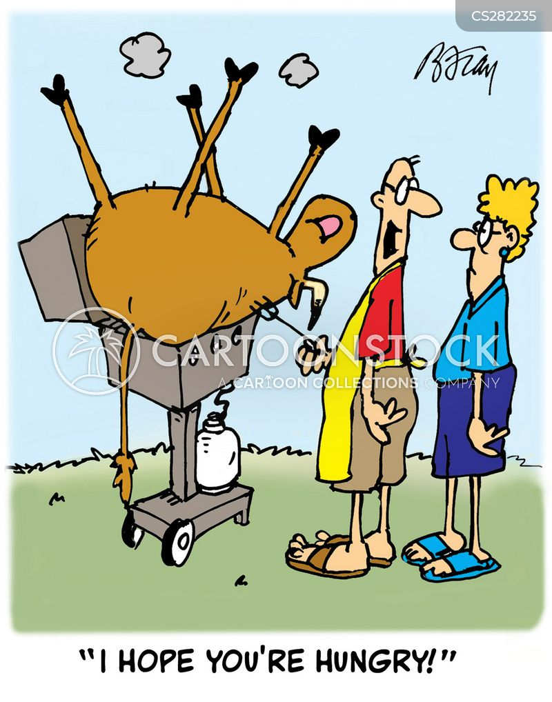 grilled cartoon