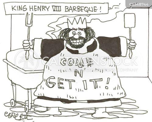 henry tudor cartoon
