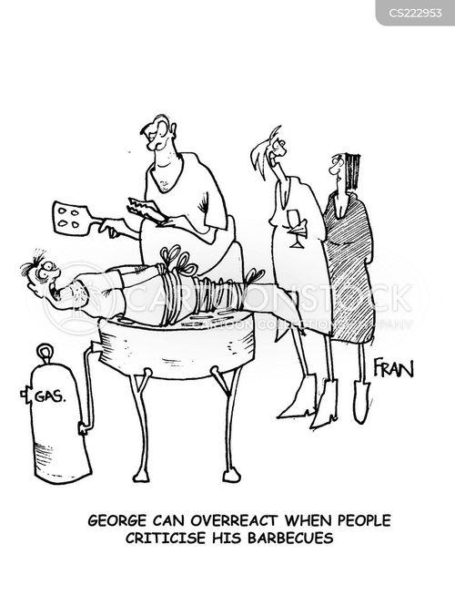 criticises cartoon