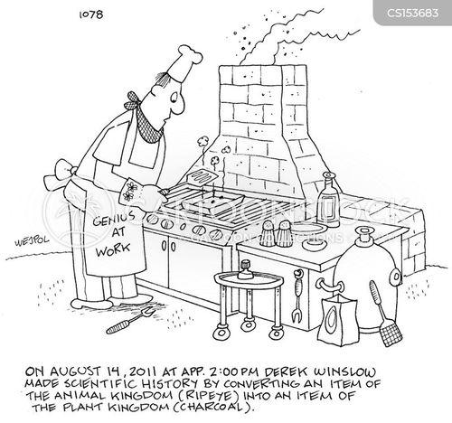 charcoal cartoon