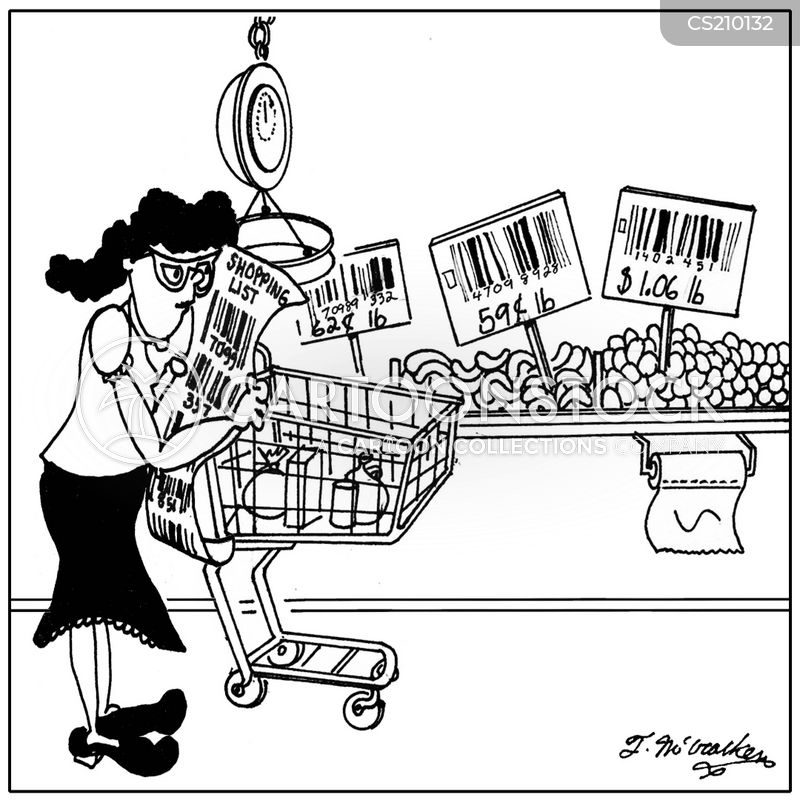 fruit and vegetables cartoon