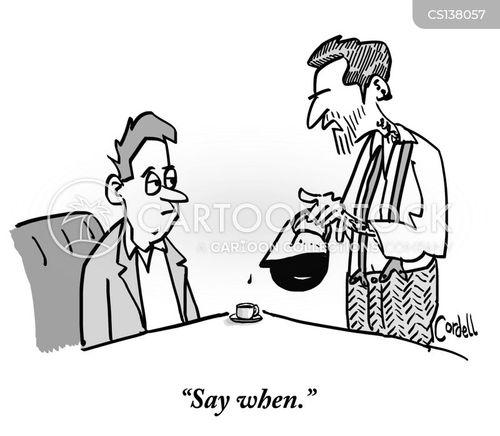 coffee houses cartoon