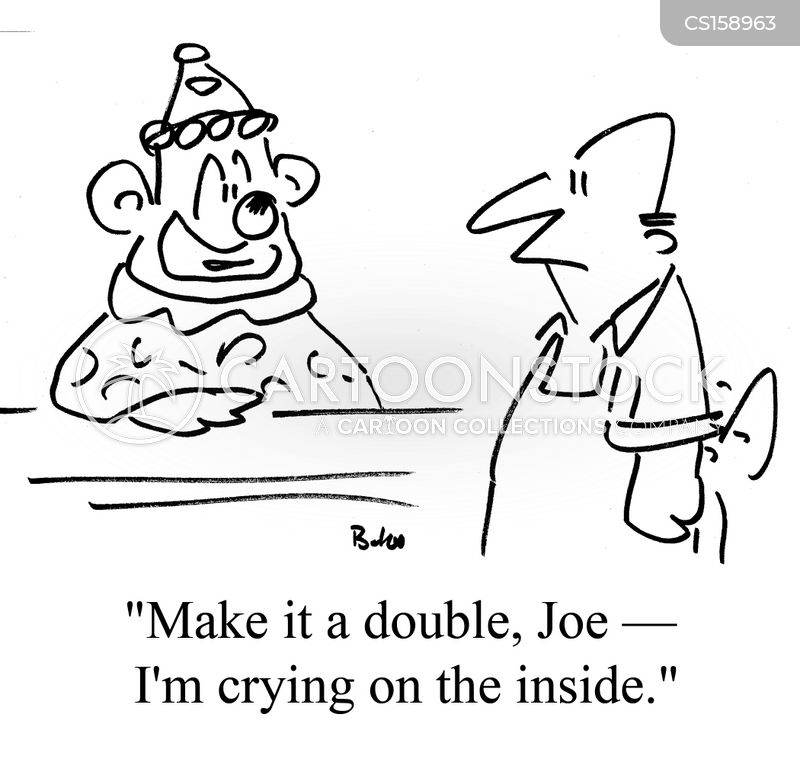 drinking holes cartoon