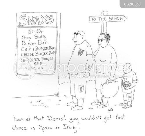 burger joints cartoon