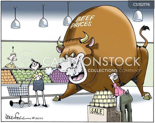 beef market cartoon