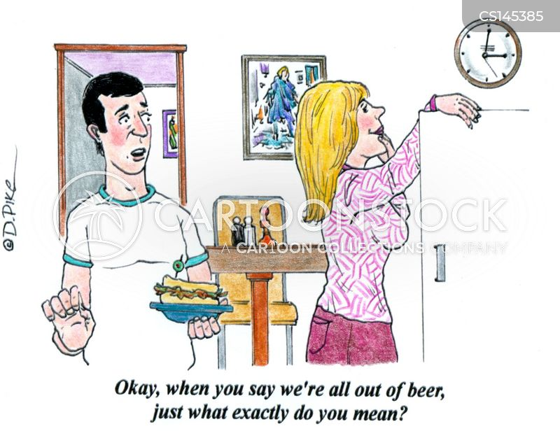 beer can cartoon