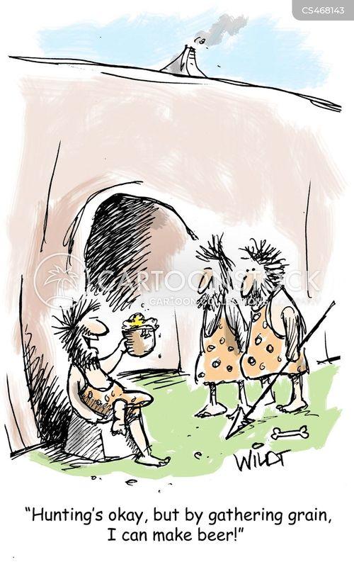 craft beers cartoon
