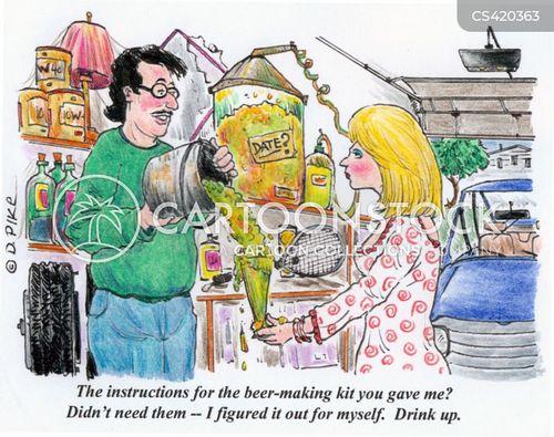 home-brews cartoon