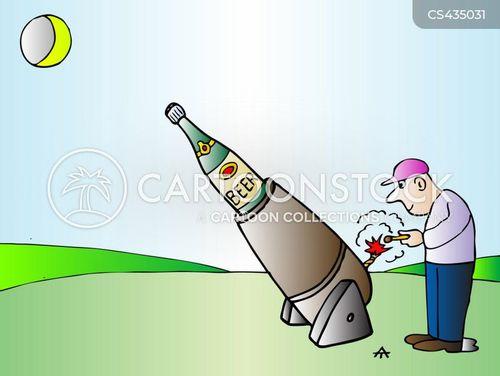 beer bottle cartoon