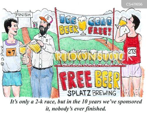 beer festival cartoon