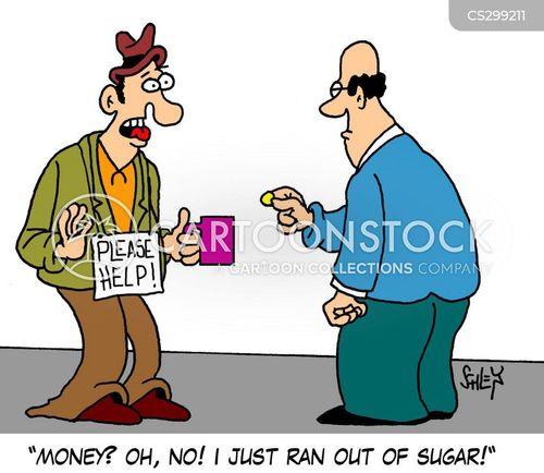 cup of sugar cartoon