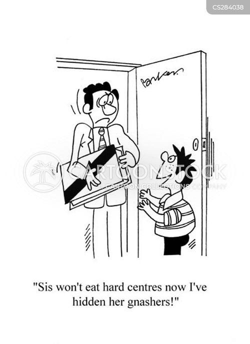 hard centres cartoon