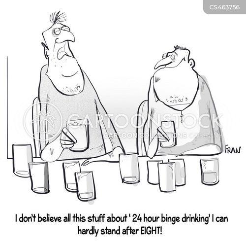 pub crawl cartoon