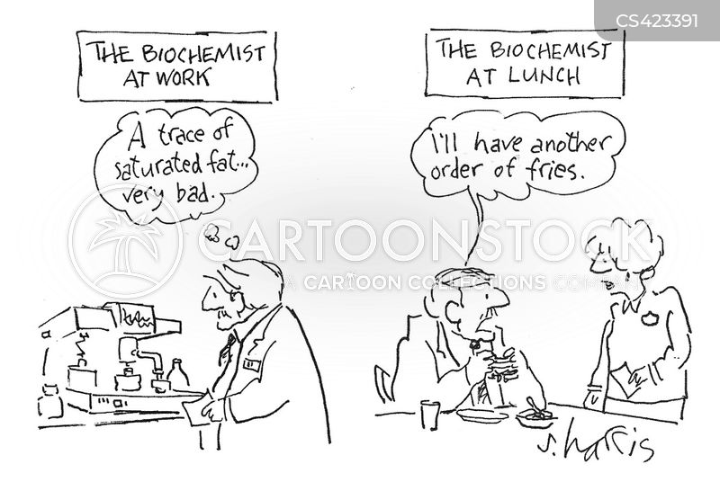 biochemistry cartoon