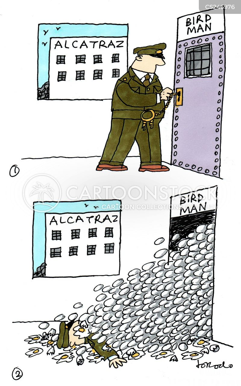 alcatraz cartoon