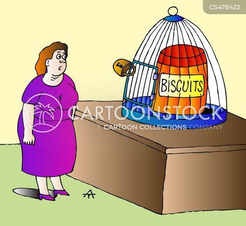biscuit tins cartoon