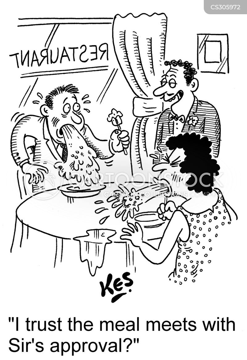 bistros cartoon