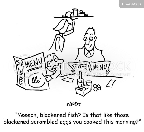 scrambled eggs cartoon