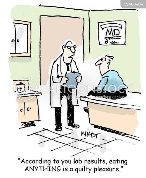 lab result cartoon